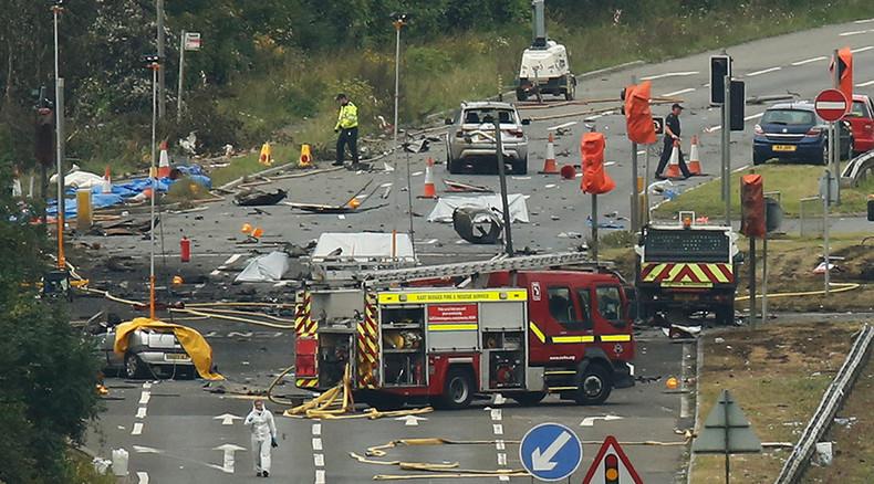 11 feared dead in UK Shoreham airshow crash