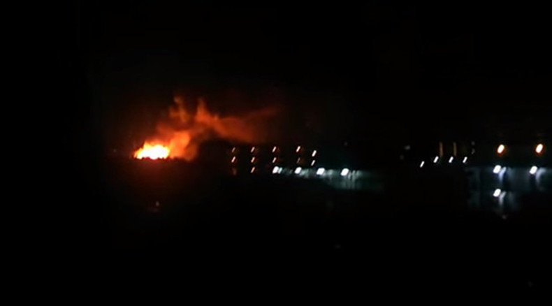 Explosions at US military base in Kanagawa, Japan (VIDEO)