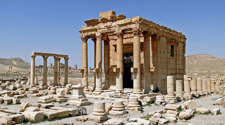 ISIS blows up ancient Baal Shamin temple at Syria's Palmyra
