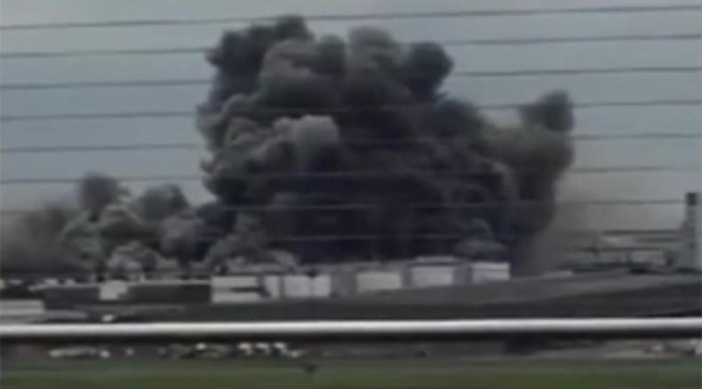 Huge factory blaze erupts near Tokyo airport (PHOTOS)