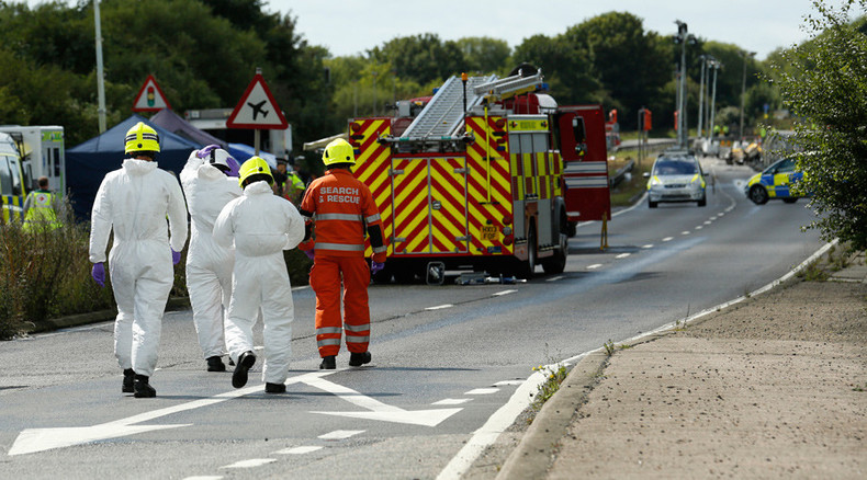 Shoreham plane crash death toll 'could reach 20'