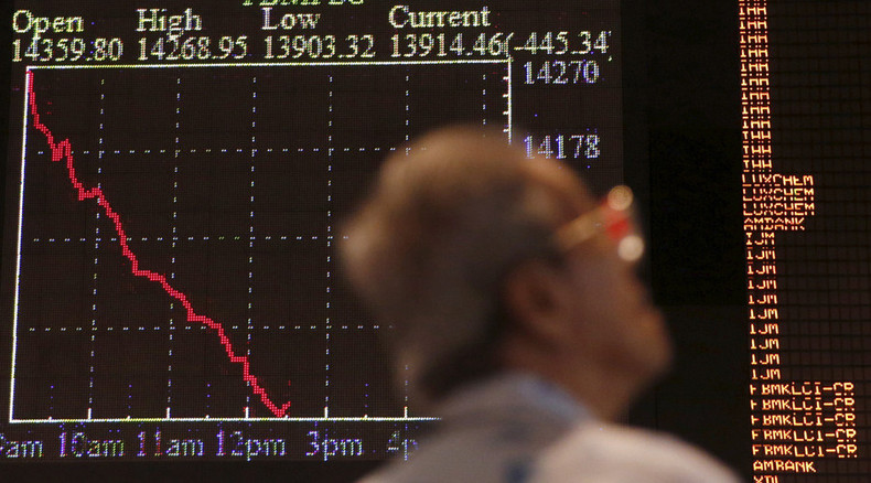'Global markets not suffering a crisis, but rather a crash'