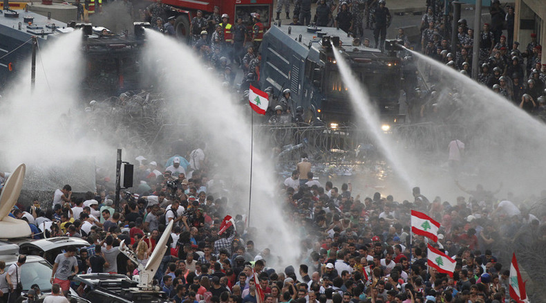 Lebanese 'You Stink' protests against garbage and oligarchy