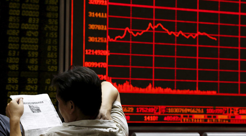 Chinese markets crash again in biggest collapse in 20 years
