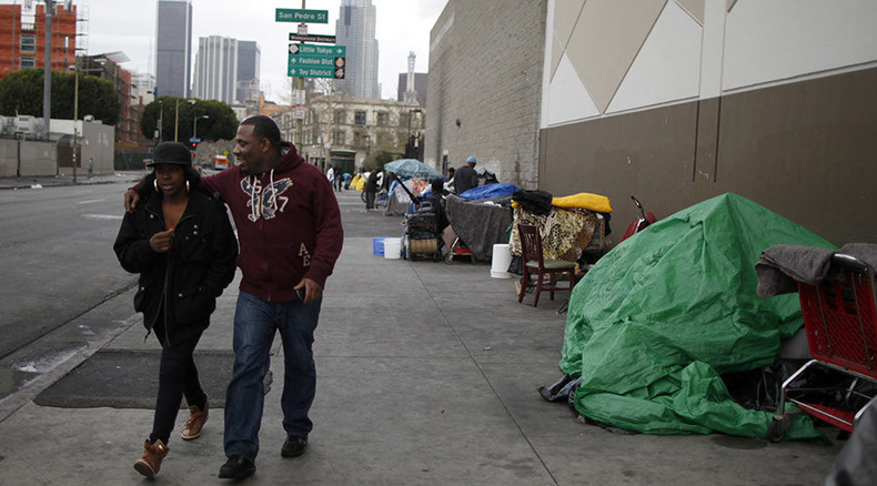 13K public aid recipients become homeless in LA County every month– report