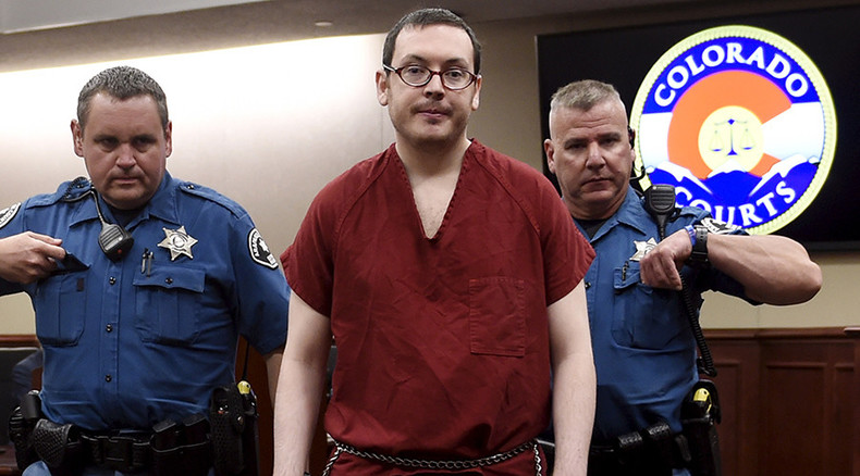 3,318 yrs behind bars: Colorado theater shooter formally sentenced to life in prison