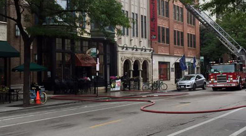 Fire destroys Chicago's Second City comedy club offices, injures 3