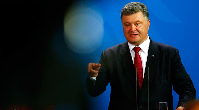 Ukraine's Poroshenko says 'no Minsk-3' as Moscow hopes for ceasefire