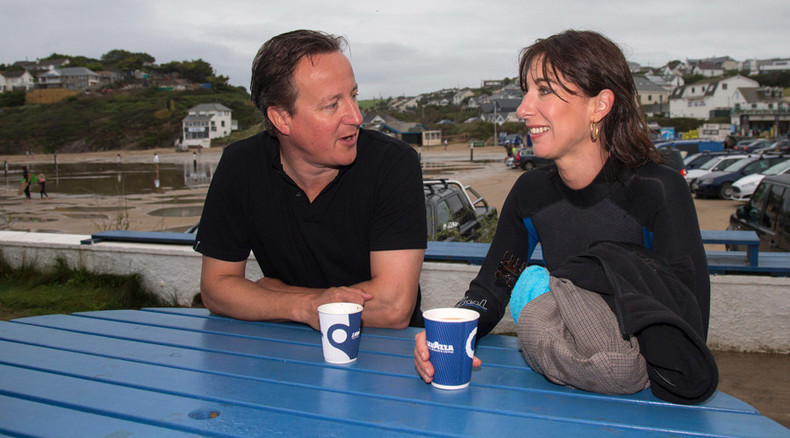 Crap vacation: PM David Cameron & family surfed in raw sewage