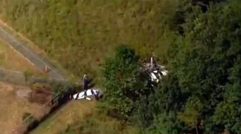 Plane crashes at New York Air Show