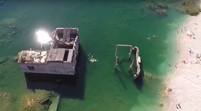 Wet 'n' wild: How flooded ex-Soviet prison in Estonia became a scuba-divers' paradise (VIDEO)