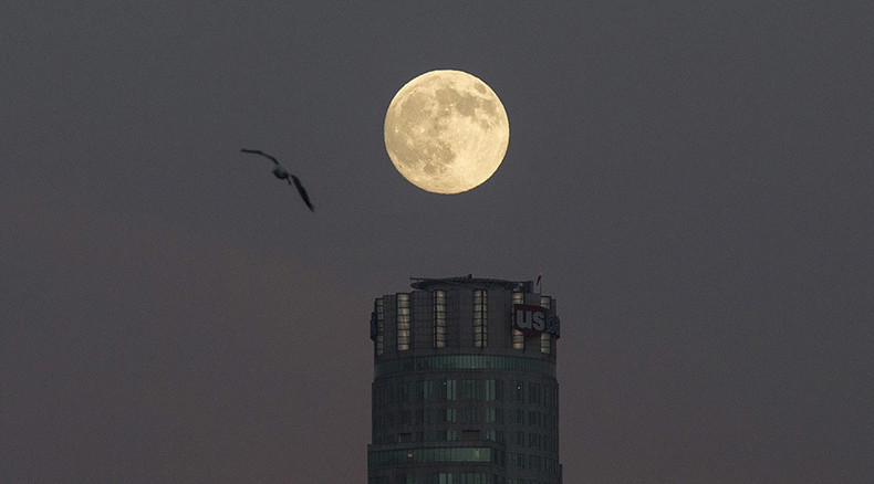 Sturgeon Moon 2015 rises: Stunning supermoon lights up Saturday night sky (PHOTOS)