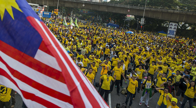 Malaysia's ex-PM calls for 'people power' mass protests to topple govt