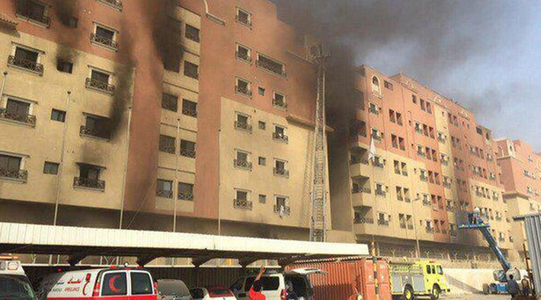 11 killed, 219 injured in Saudi Arabia residential complex fire