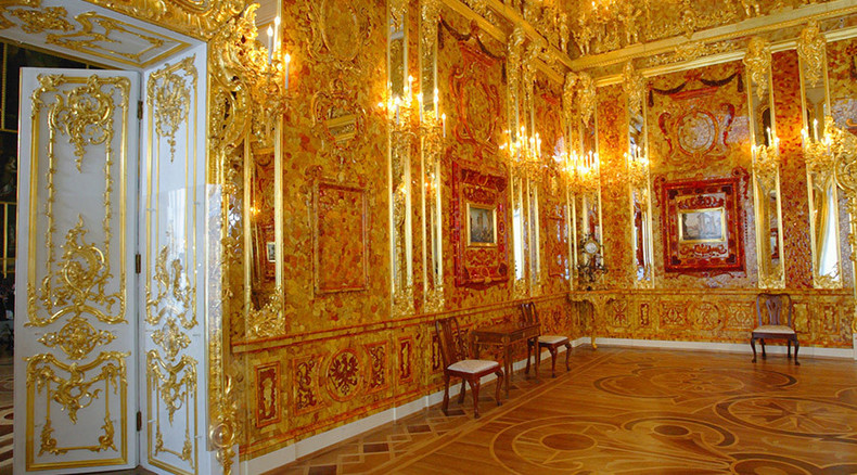 Fabled Amber Room could be hidden inside Nazi treasure train ...