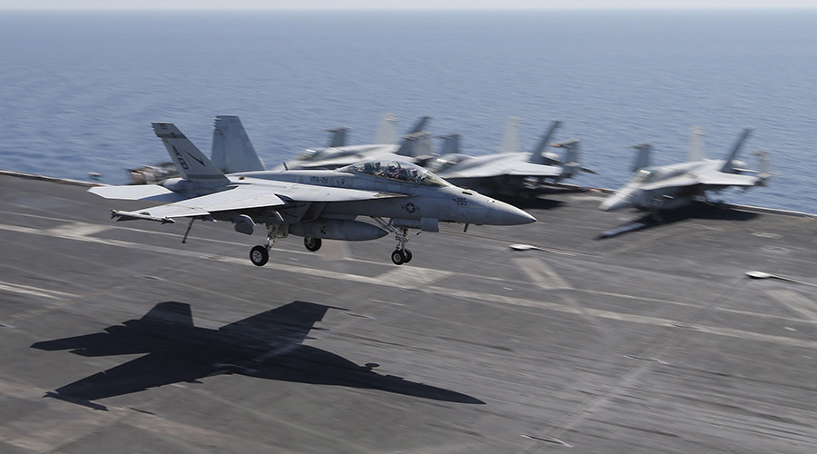Taking sides in Syrian civil war? Obama authorizes airstrikes 'to defend' US-trained rebels