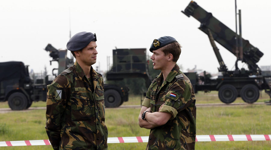 'Bang, Bang!' Ammo-starved Dutch soldiers 'forced to imitate sound of firing'