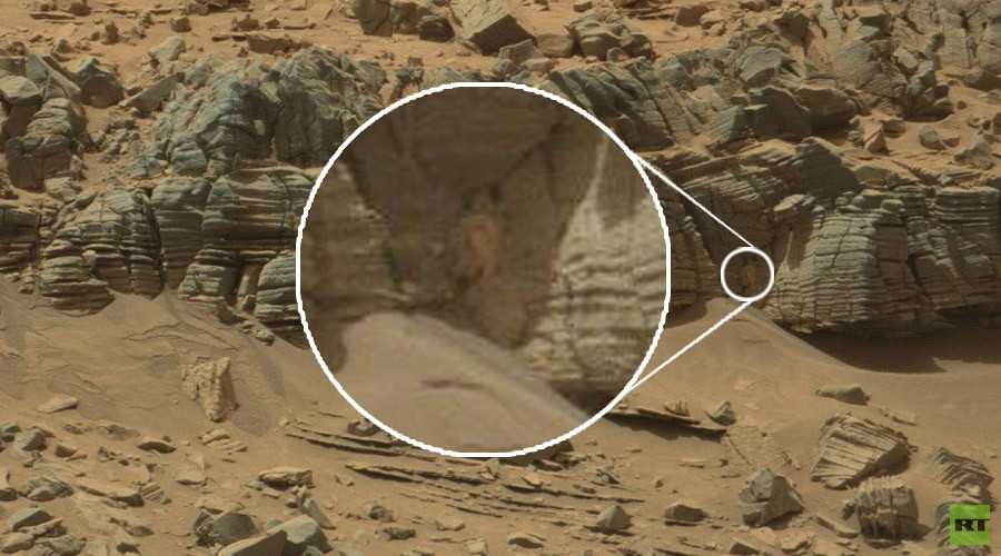 Space crab? Mars object in NASA pics totally thrills red planet fans