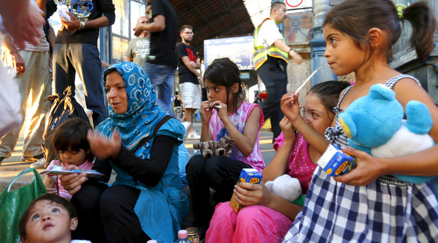EU 'wiping out' original population in favor of migrants