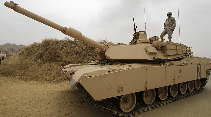 Saudi Arabia sends reinforcements, dozens more tanks to Yemen