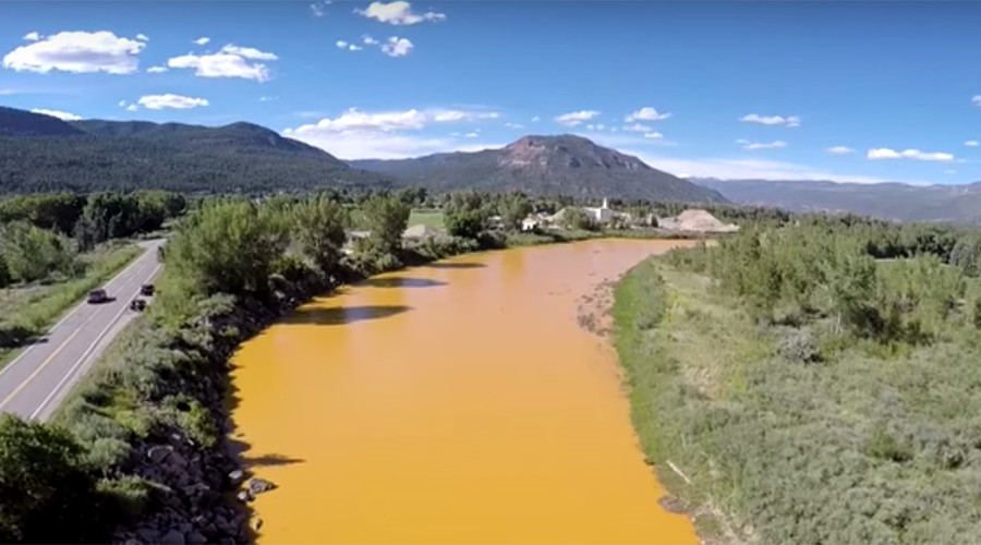 Toxic sludge in contaminated river reaches New Mexico, communities have 90-day water supply