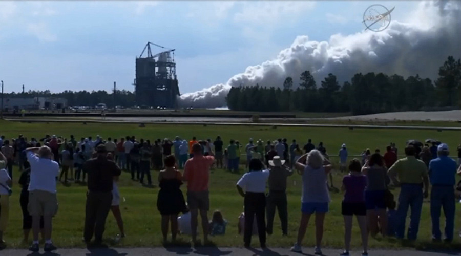 NASA tests super-engine that will one day take us to Mars (PHOTO, VIDEO)