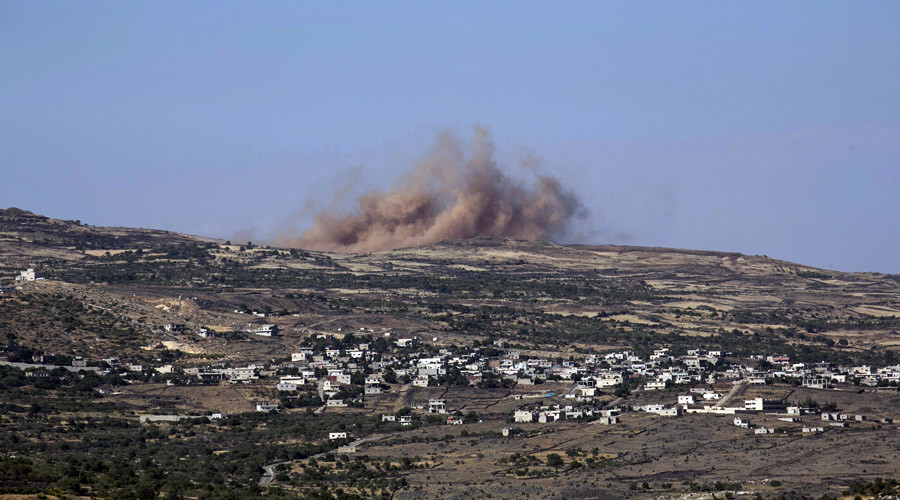 Israel strikes Damascus' military targets in retaliation for rocket fire by 'Iran-funded militants'