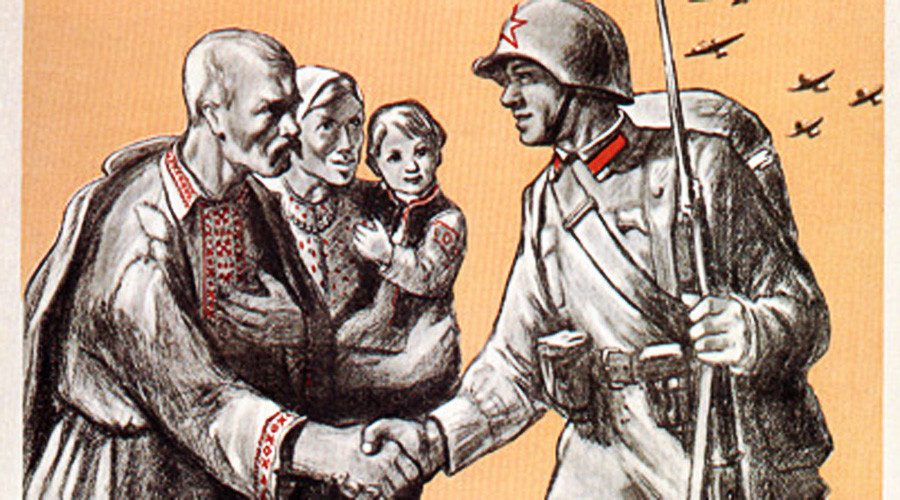 Russians & Ukrainians not brothers, Ukrainian president claims
