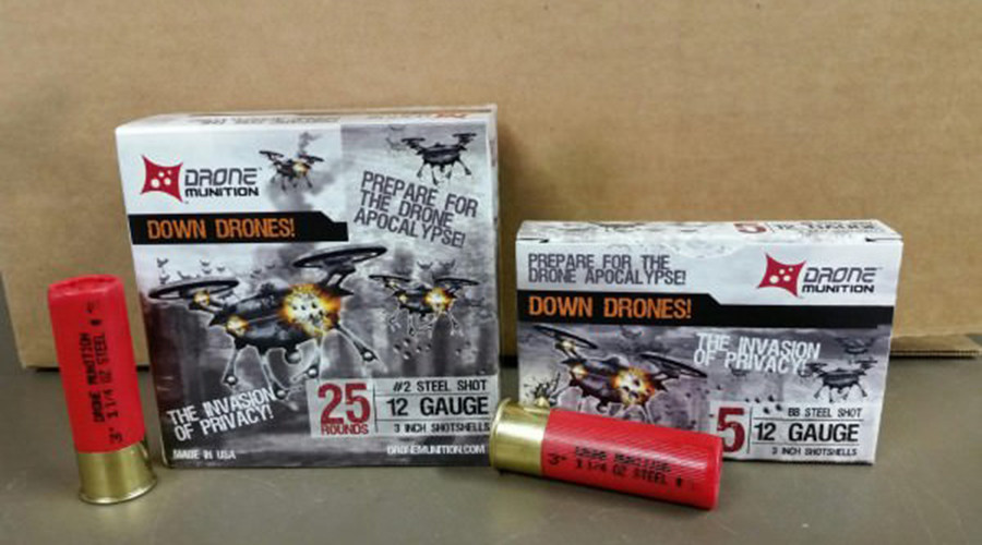 Man vs. machine: New shotgun shell being marketed for shooting down drones
