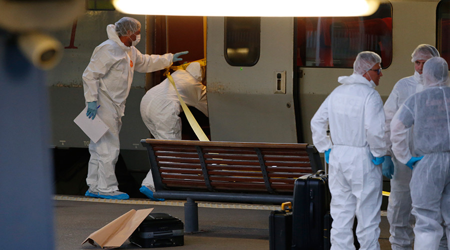 French train gunman claims attempted robbery rather than 'terrorist intentions'