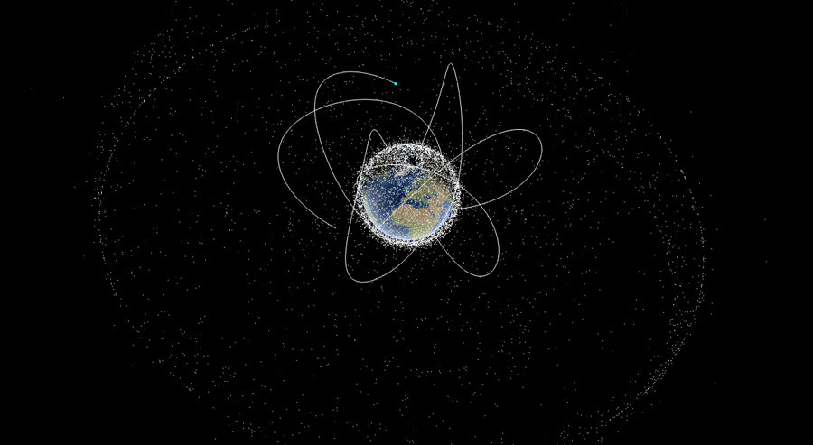Spectacular Space Map Shows Satellites Orbiting Earth RT - Map of satellites orbiting earth