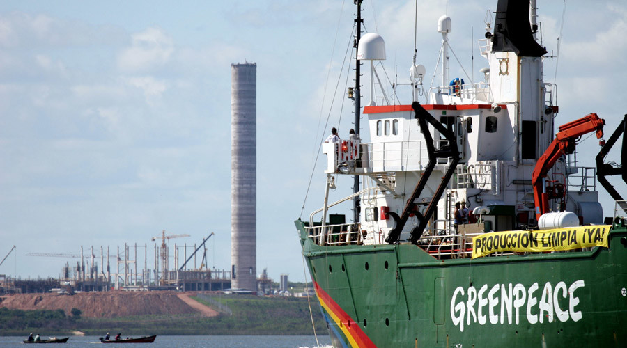 Greenpeace compensation ruling in international court not recognized by Moscow