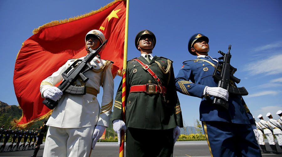 Dogs of Western resentment bark as Chinese WWII parade passes