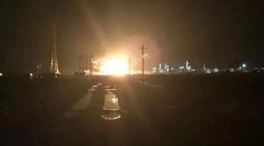 At least 1 killed in new explosion at Chinese chemical plant