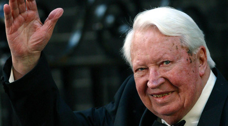 Former British Prime Minister Edward Heath. © STR