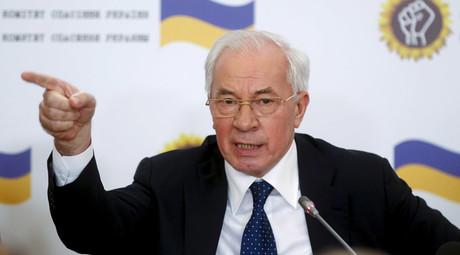 Ukraine's former prime minister Mykola Azarov © Maxim Zmeyev