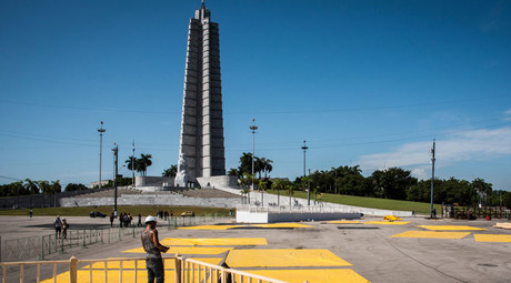 Pope to conduct Cuba mass next to iconic Che Guevara portrait