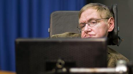 Theoretical physicist professor Stephen Hawking. ©Valentin Flauraud