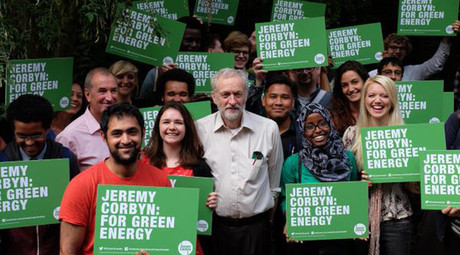 Govt plundering natural resources and driving climate crisis - Corbyn