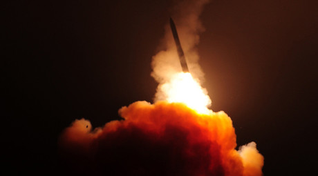 US Air Force conducts test of Minuteman 3 missile (VIDEO)