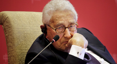 Former U.S. Secretary of State Henry Kissinger © Jason Lee