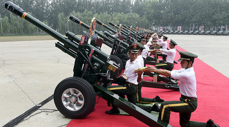 China's V-Day parade countdown: 12,000 troops & missile might expected