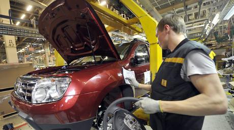 Weak ruble reviving Russian exports