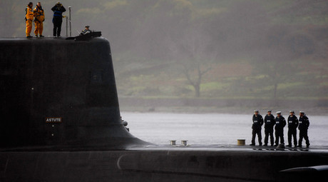 UK announces £500mn injection into costly, controversial Trident base in Scotland