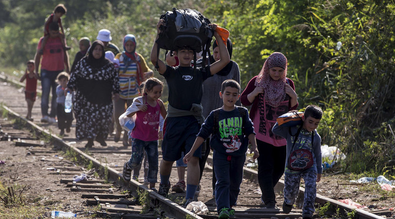 What's it like to be a refugee? Crossing the Serbia-Hungary border with those fleeing conflict zones