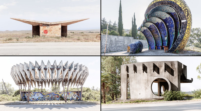 'Creativity where least expected': Canadian photographer publishes art book of Soviet bus stops