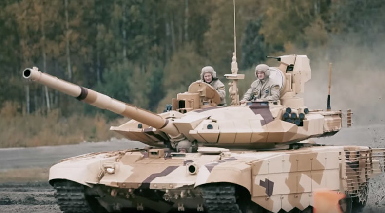 Tanks vs. 'terrorists': Watch unprecedented live broadcast of Russian military show on RT