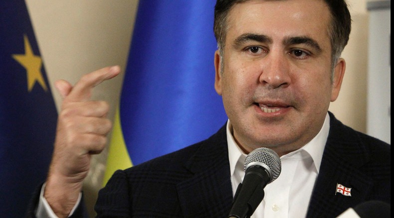 Saakashvili's comeback? 30,000 sign petition to appoint Georgian ex-president as Ukrainian PM