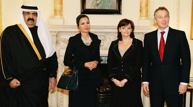 Cherie Blair lobbied Hillary Clinton on behalf of Qatari royal family