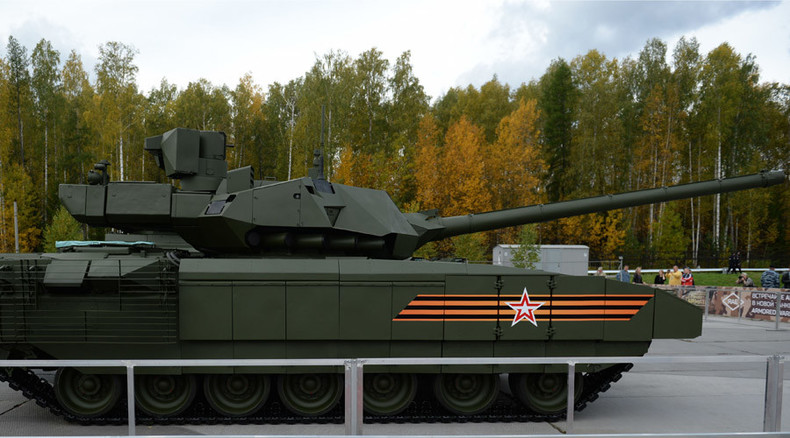 Prepare to be Terminated: Russia readies first robot tank, shows off Armata at arms expo